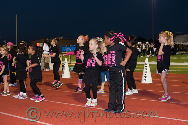 Crandall vs Kaufman (cheer, drill team, band, candids)