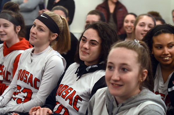 Hoosac Valley girls honored at Adams Town Hall - 032019