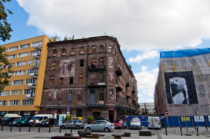 Jewish quarter of Warsaw