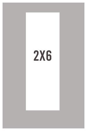 Elegant Patterns 2x6 (Classic Filmstrip Style Print)
