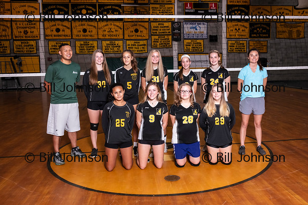 Nauset Freshman Volleyball Team and Roster 2019-2020