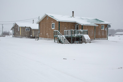 Fort Albany 2012 December 31 Snowy Morning