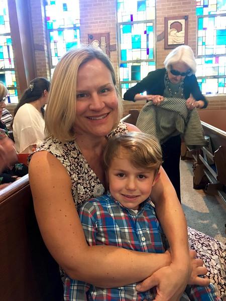 Erik and Sophia's 1st Communion
