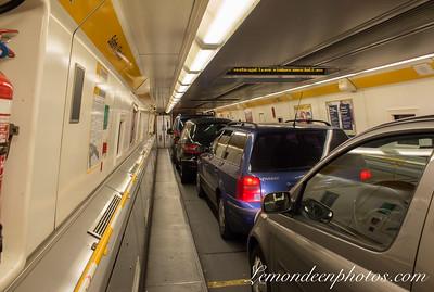 Tunnel sous la Manche - Le Voyage