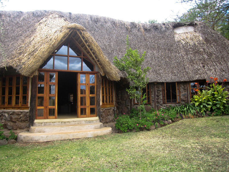 Our house at Lewa