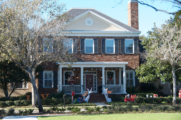A Sampling of Celebration Homes Decorated for Christmas 2012