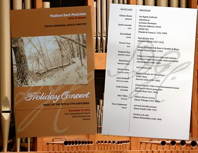 Madison Bach Musicians Holiday Concert 2014