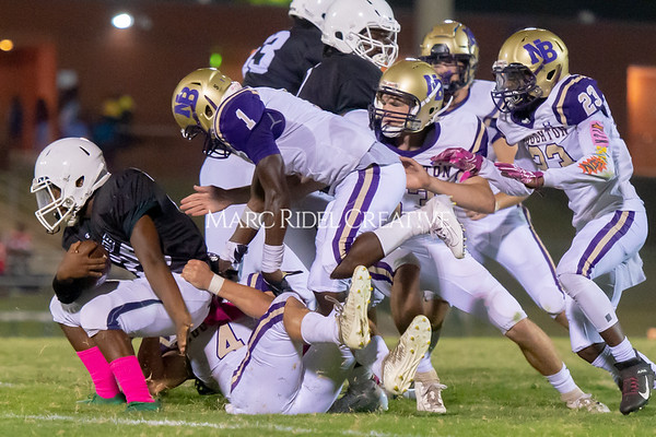 Broughton Varsity football at Southeast Raleigh. October 4, 2019. D4S_5101