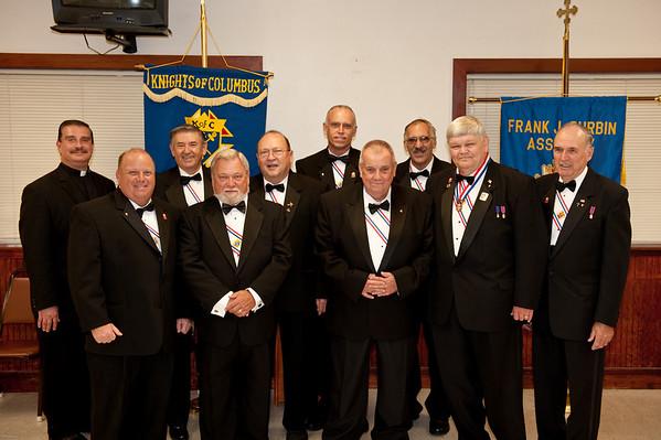 KofC Officer Installation & Banquet