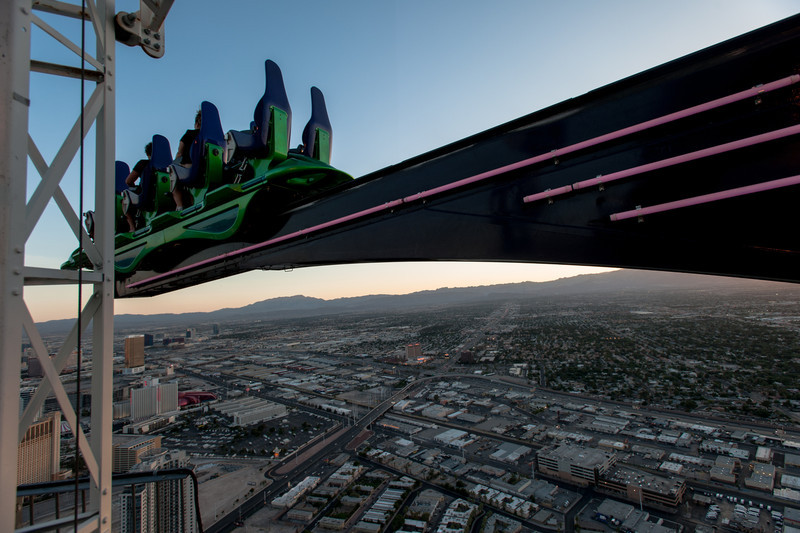 X-Scream on top of the Stratosphere