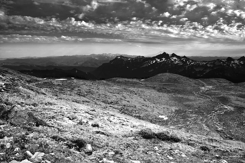 View from Mt. Rainier, Washington