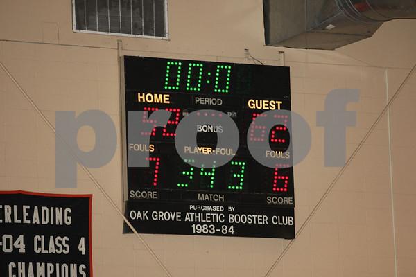 Junior Varsity-Oak Grove vs Richmond 1-31-08