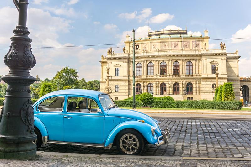 The Rudolfinium in Prague