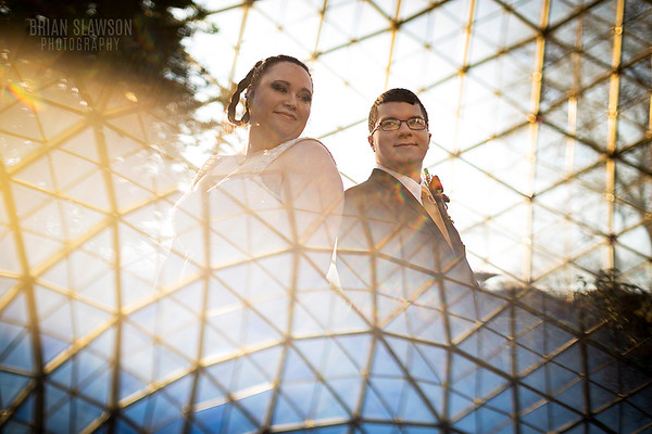 Mitchell Park domes wedding blog