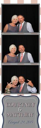 Courtney and Matthew Allen Wedding