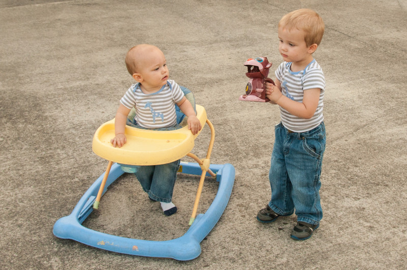 Breyden (26 Months) and Lucas (11 Months)