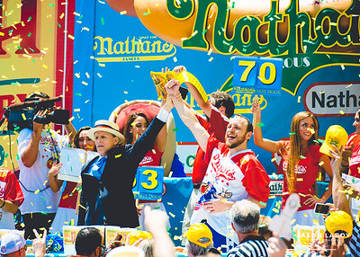 Nathan's Hot Dog Eating Contest 2016