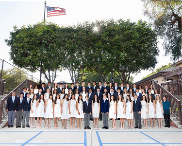 Mayfield Junior School Commencement Honors 8th Graders 2021