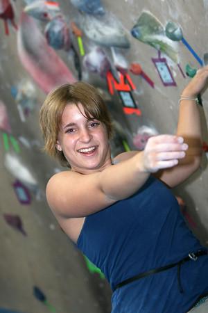Kathleen Climbing