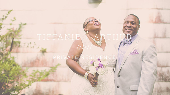 TIFFANIE + ARTHUR ////// PRIVATE RESIDENCE