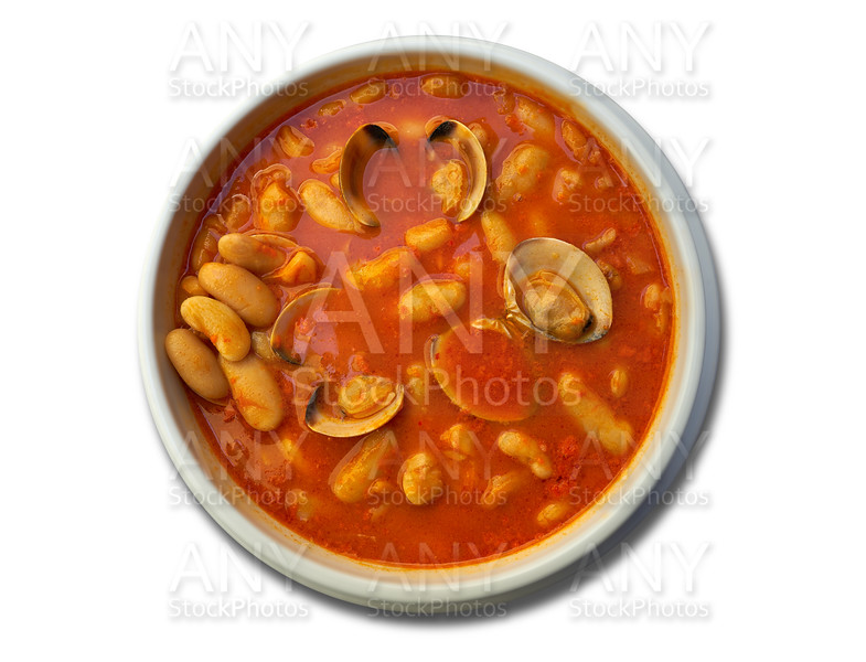 Fabes con almejas beans with clams recipe Asturias