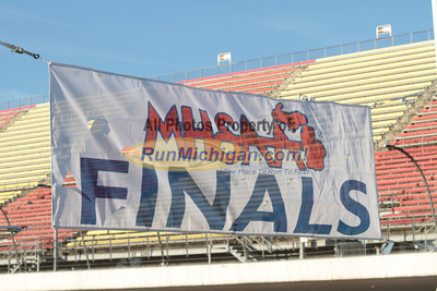 Girl's D4 Finish by John - 2011 MHSAA LP XC Finals