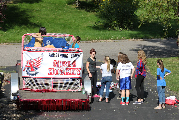 9-19-14  Homecoming Parade!