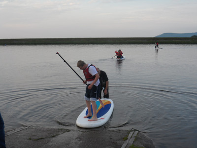 Paddle Boarding (Summer 2014)