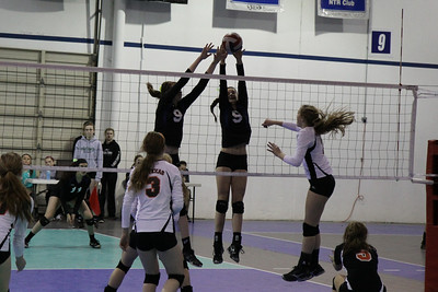 Knights Volleyball Nfinity Ranking Tournament 15 National Royal vs Air Texas (02/03/31)