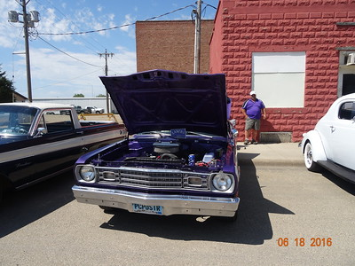2016 Old Settlers Day Car Show - Highmore, SD