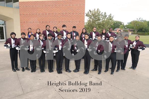 Heights Band Seniors 2019