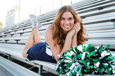 CHHS Senior Cheer Pictures