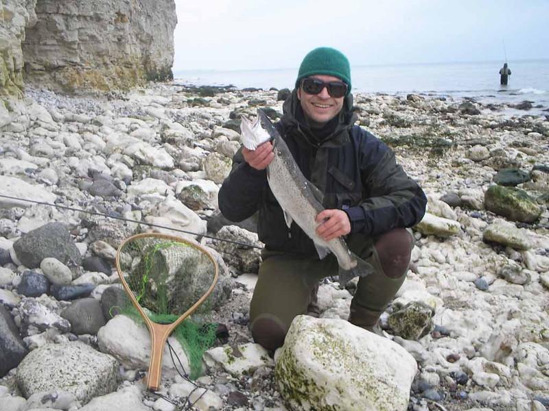Sangstrup havørred på 68 cm og 2,9 kg. Marts 2008