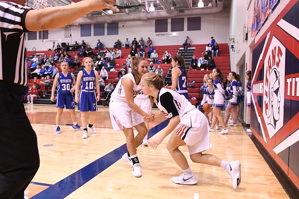 Varsity Girls Basketball vs Bennington