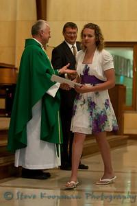 2010 Holy Family 8th Grade Graduation