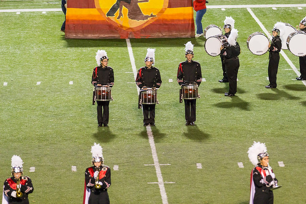 HGHS Band at Florence - Oct 21, 2016