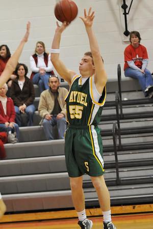 Boys JV Basketball @ Ballard 2009-2010