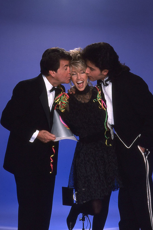 . NYRE 1988 Hosts and Dick Clark
