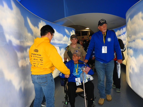 Talons Out Honor Flight
