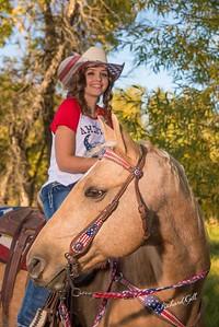 Dani w/horse