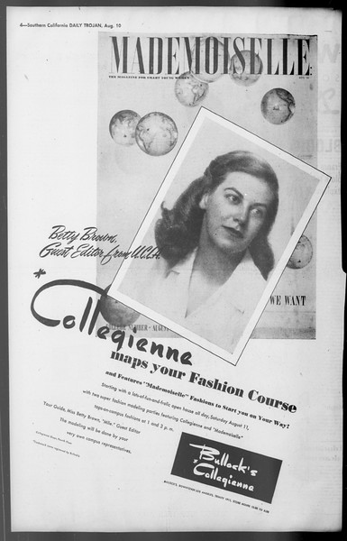 Daily Trojan, Vol. 36, No. 176, August 10, 1945