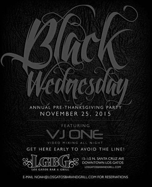 BLACK WEDNESDAY @ LGBG 11.25.15 [PART 1/2]