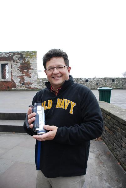 Tony At Wawel Castle 2.JPG