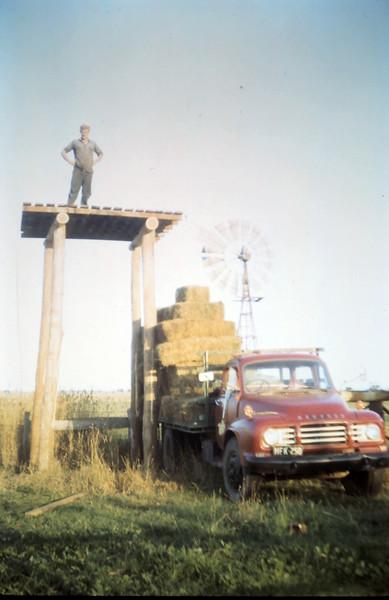 1969-2-24 (20)  Putting up new tank.JPG
