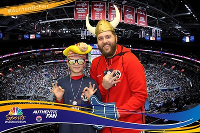 Washington Wizards #AuthenticFan Experience: 1/12/2018