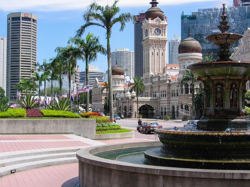 Kuala Lumpur streetscape, Malaysia, 2004