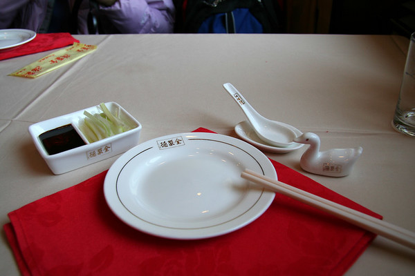Beijing - Peking Duck lunch