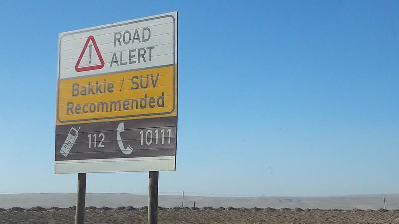 road alert sign