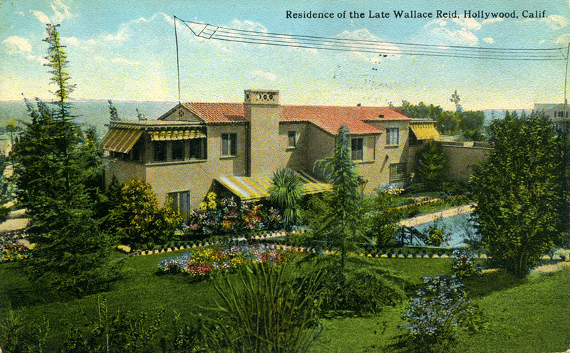 Residence of the Late Wallace Reid