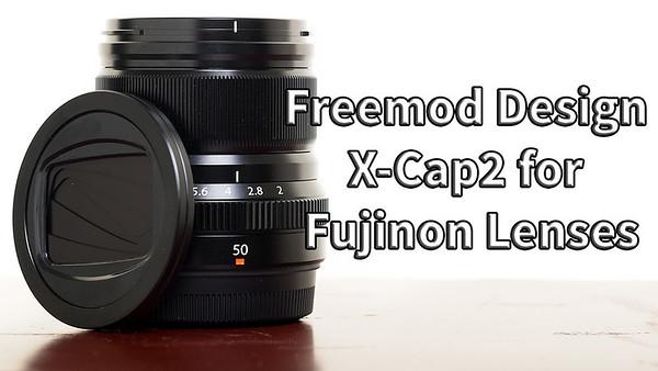 Freemod Design X-Cap 2 for Fujinon Lenses